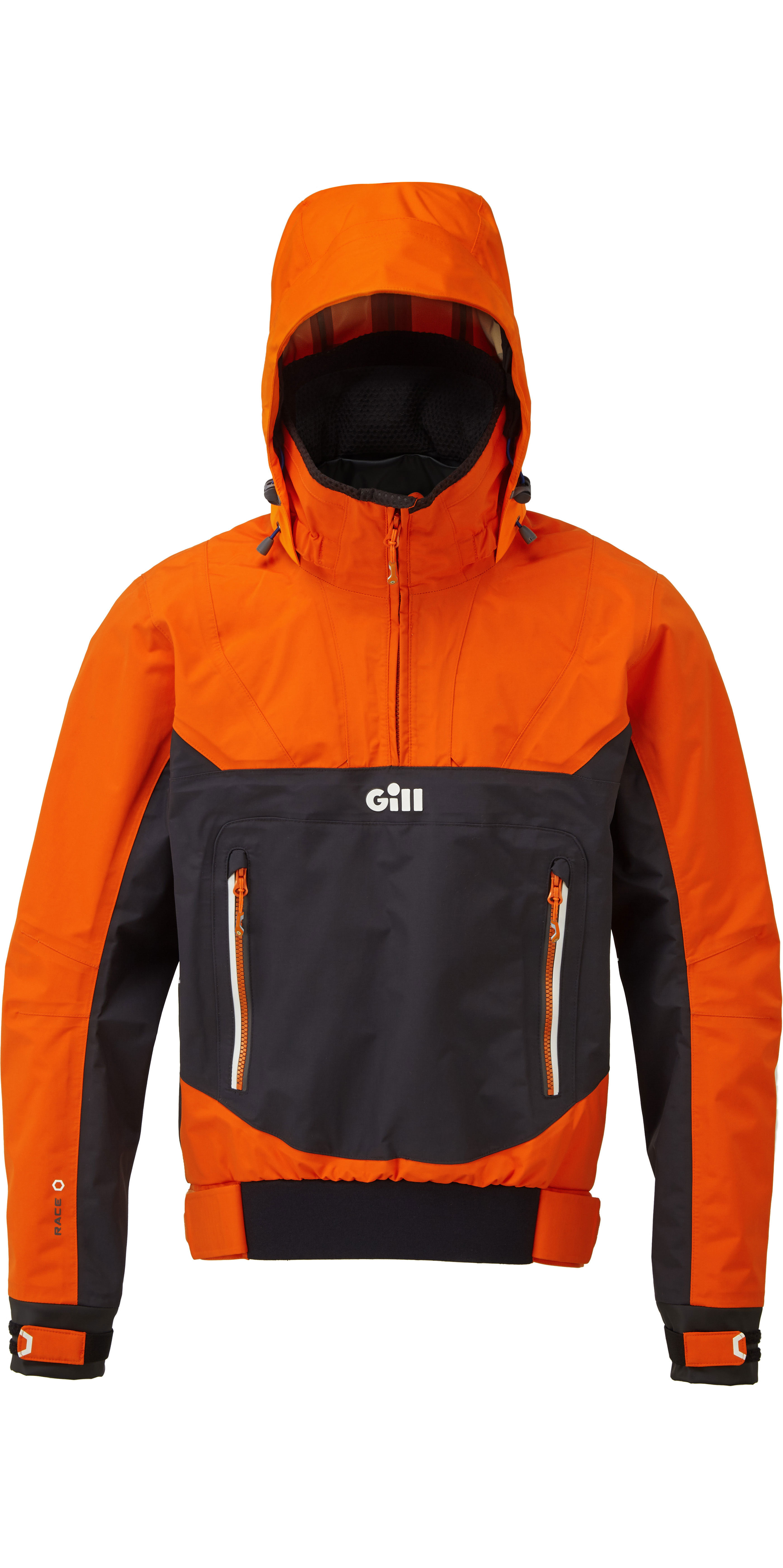 2019 Gill Mens Rennen Fusion Smock Rs24 & Salopettes RS25 Tango / Schwarz