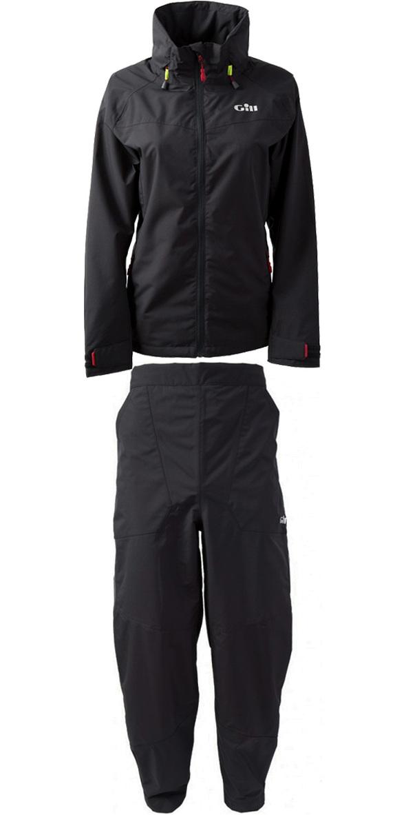 2019 Chaqueta Pilot De Mujer Gill In81jw & Trouser In81t Combi Set Graphite