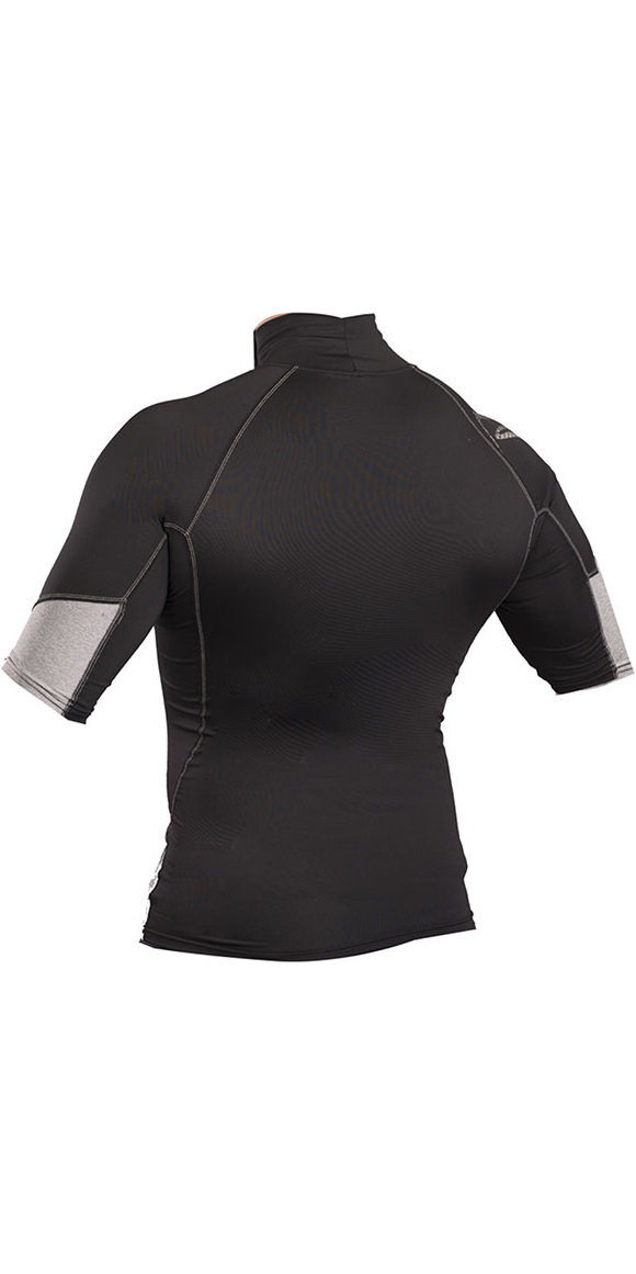 Black Gul Xola Short Sleeve Rash Vest
