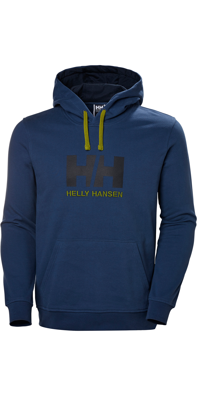 bastante agradable aedb8 fb4ad 2019 Helly Hansen Hh Logo Sudadera Con Capucha Azul Graphite 33977