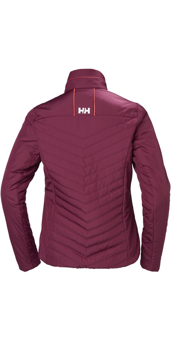 53030 Helly Ladies Plum Jacket Insulator Hansen Crew 2018 g80npzn