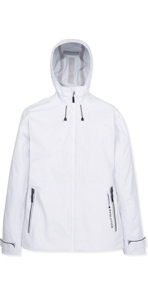 """Musto Womens Splice BR2 Jacket About Made to be exceptionally waterproof to Musto's peerless BR2 standards, this Splice BR2 Jacket will keep you dry and comfortable even when exposed to torrential rain over a prolonged period of time. An adjustable hood, hem and cuffs keep out the elements while reflective details heighten visibility in low light. For a greater degree of warmth outdoors, pair the Splice BR2 Jacket with the Splice PrimaLoft® Jacket using the two-way zip and magnetic connectors in the hood and cuffs. Composition MAIN: 100% Polyamide; 3-Layer Hydrophilic Full Lamination PU Membrane + DWR Coating WP: 15,000mmMVP: 7,000g/m² Explore all features: 3-layer, lightweight, waterproof and breathable fabric to Musto's stringent BR2 standard, for prolonged torrential downpours An innovative H-Bond""""¢ zipping system allows you to zip layers together, bonding them into a single garment Fully seam taped construction for a waterproof seal Durable Water Repellent (DWR"""