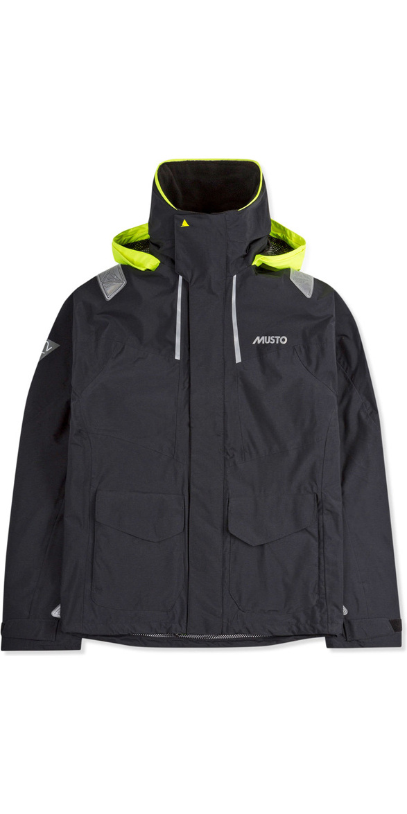 2019 Musto Herre BR2 Coastal Jacket Black SMJK055