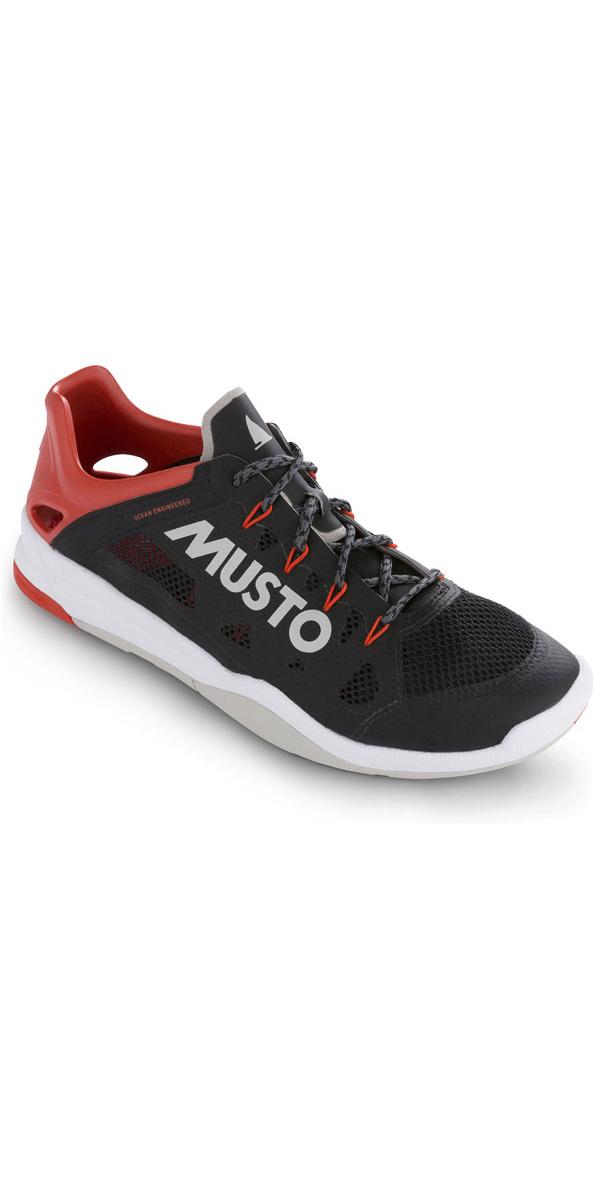 2019 Musto Dynamic Pro Ii Scarpa Da Vela Nero Fuft006