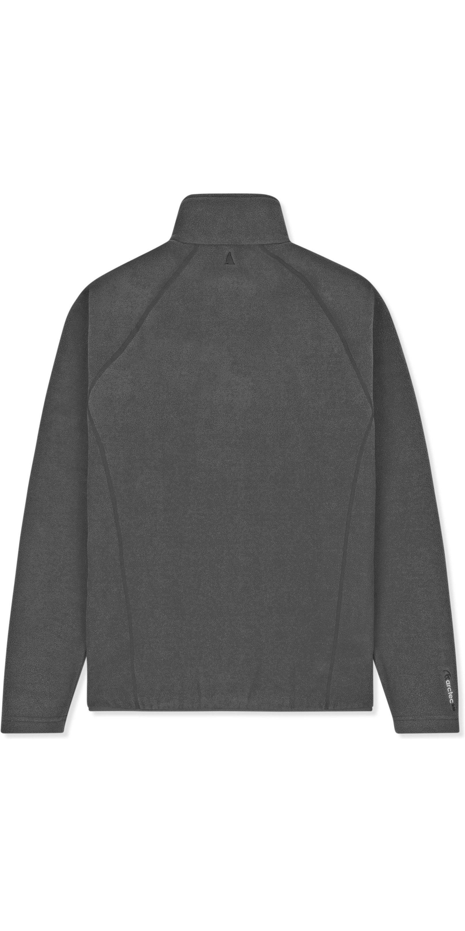 2019 Musto Crew Fleece Jacke Charcoal Emfl027