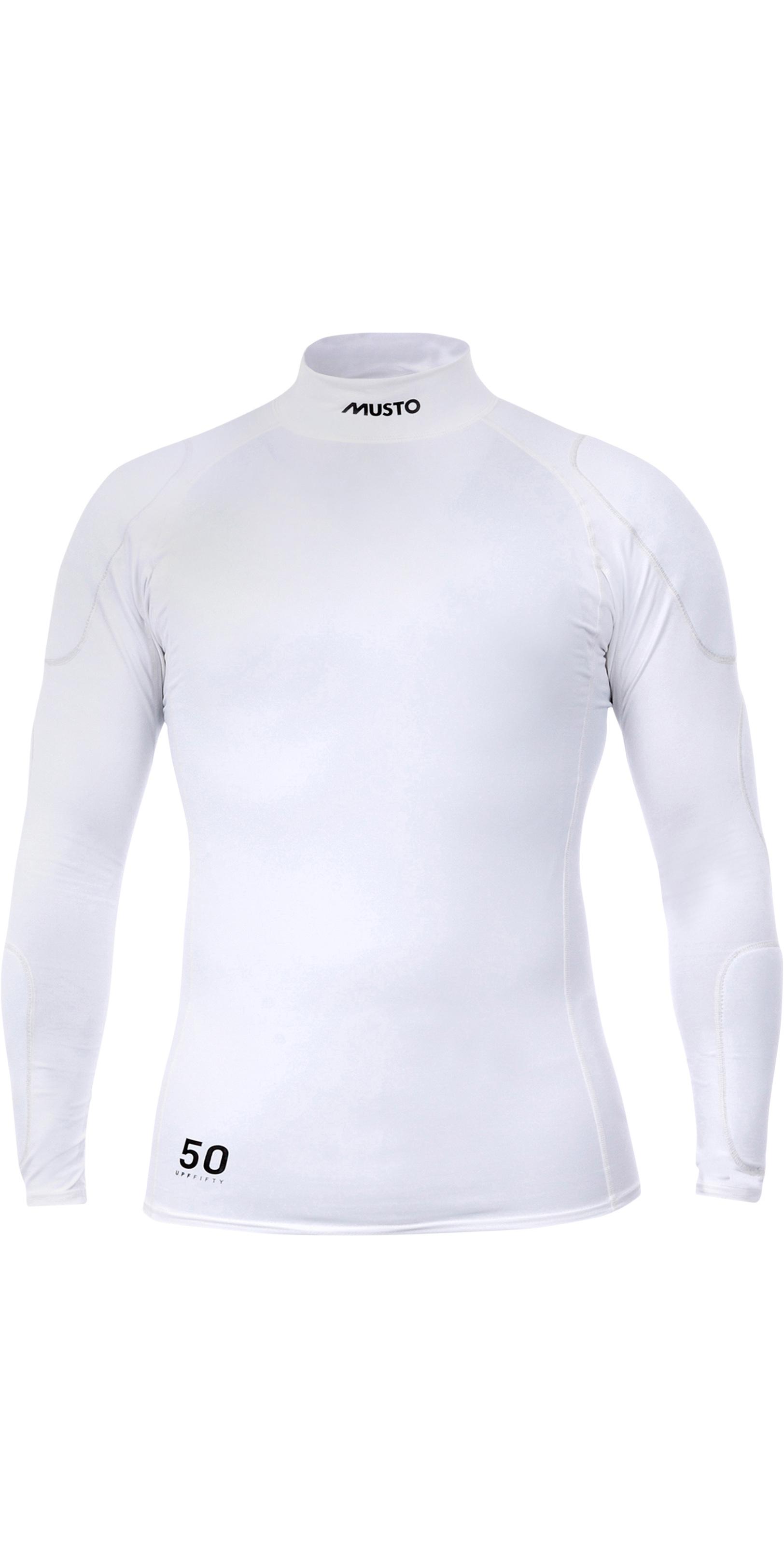 Musto Sunblock Long Sleeve Rash Guard 2019 White