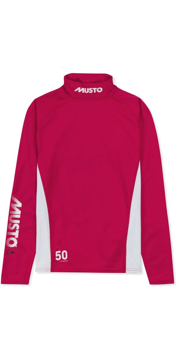 151fe6a67de0 2019 Musto Ungdomsmesterskab LS Rash Vest Magenta SKTS006 - SKTS006 ...