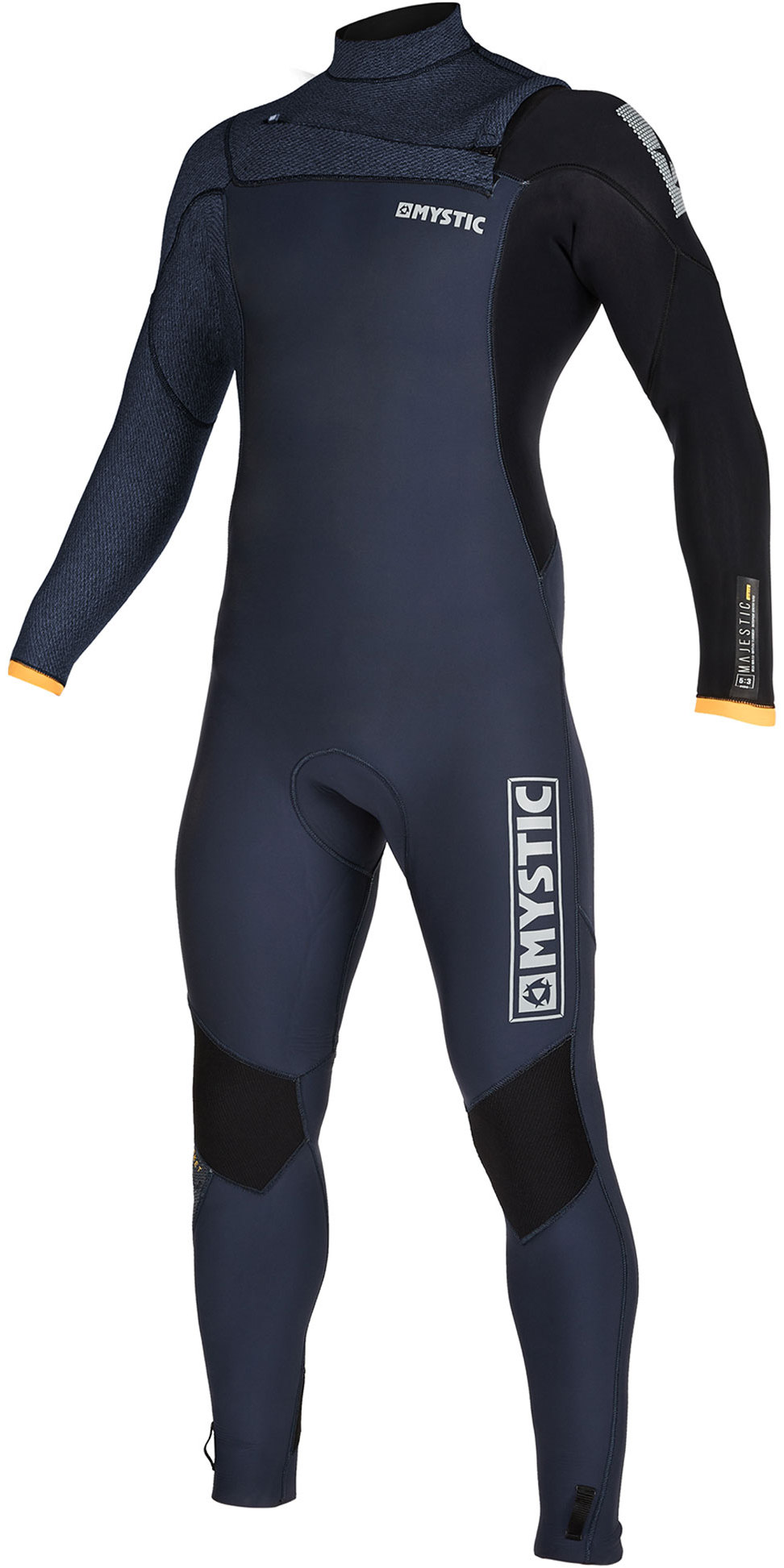 2019 Mystic Mannen Majestic 5/4/3mm Chest Zip Wetsuit 200002 - Navy