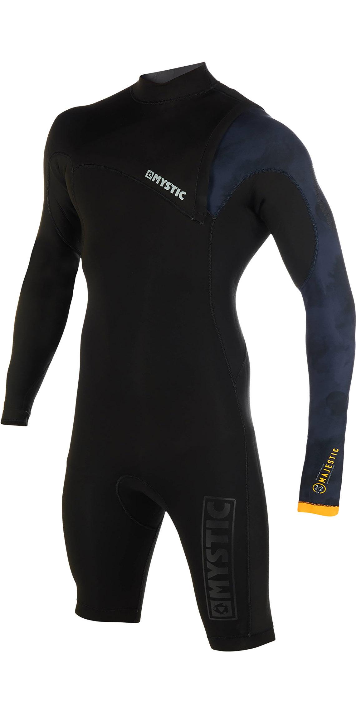 Palm Kayak or Kayaking Womens Quantum 3MM Neoprene Wetsuit Front Zip Long John Black Easy Stretch