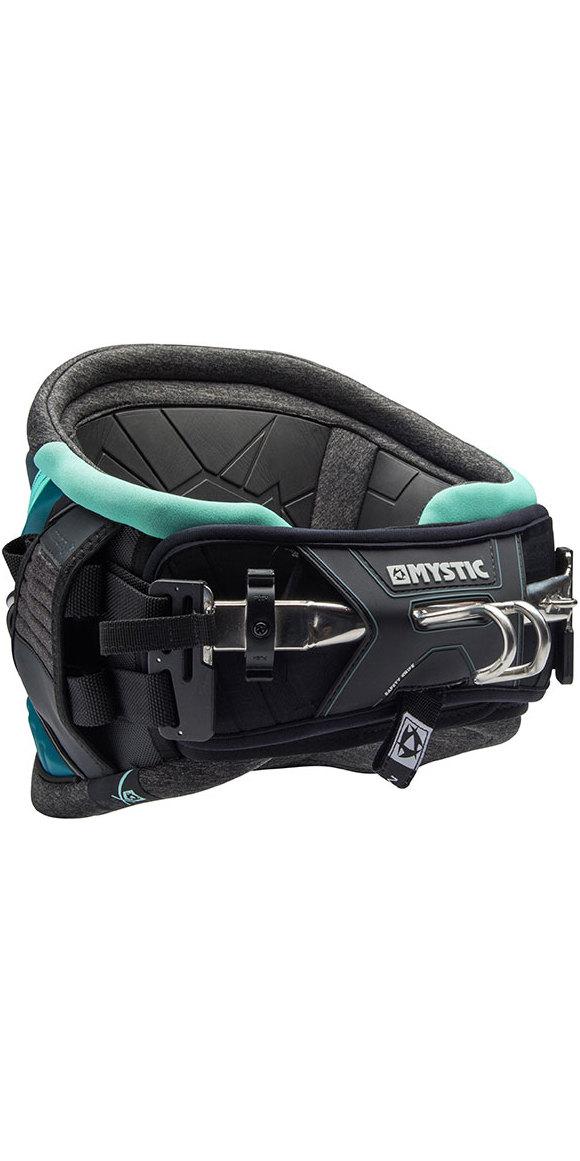 Weiterer Wassersport Kitesurfen 2018 Mystic Warrior V Multi-Use Hüftgurt Schwarz Grau 170303