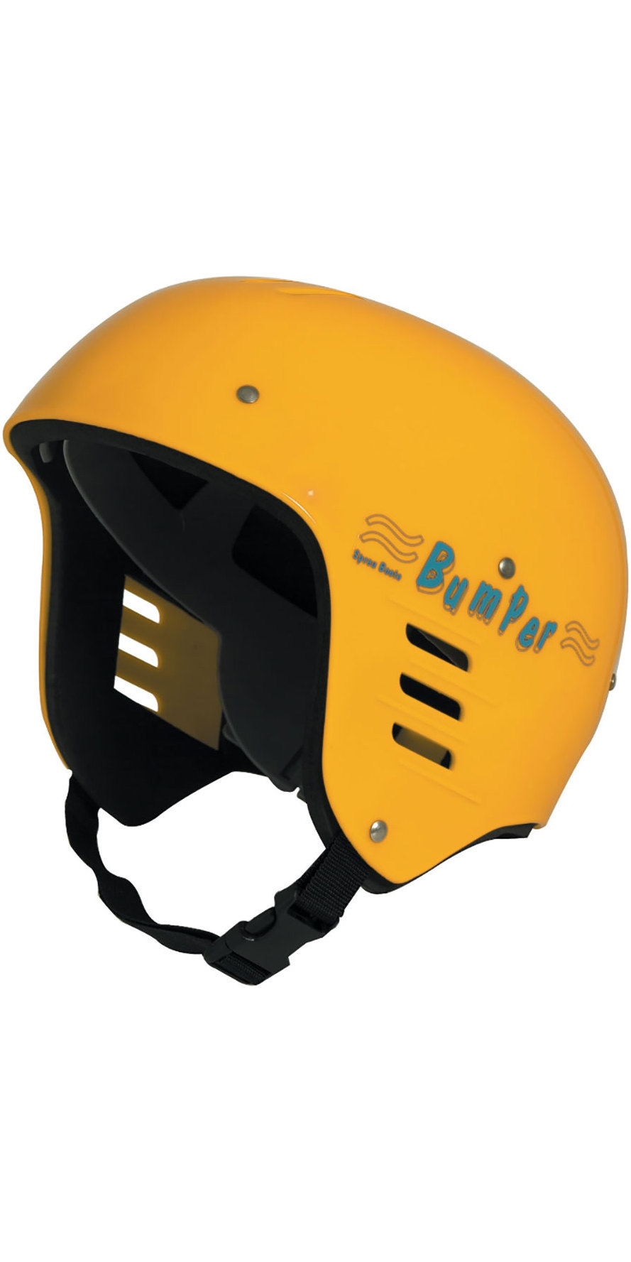 2019 Nookie Parachoques Adulto Kayak Casco Amarillo He00