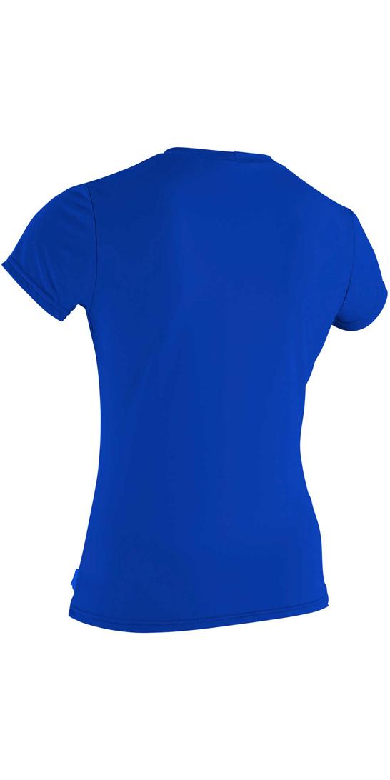 a580c8cdf O'Neill T-shirt à manches courtes et à manches courtes pour femmes Basic  Skins TAHITIAN BLUE 3547