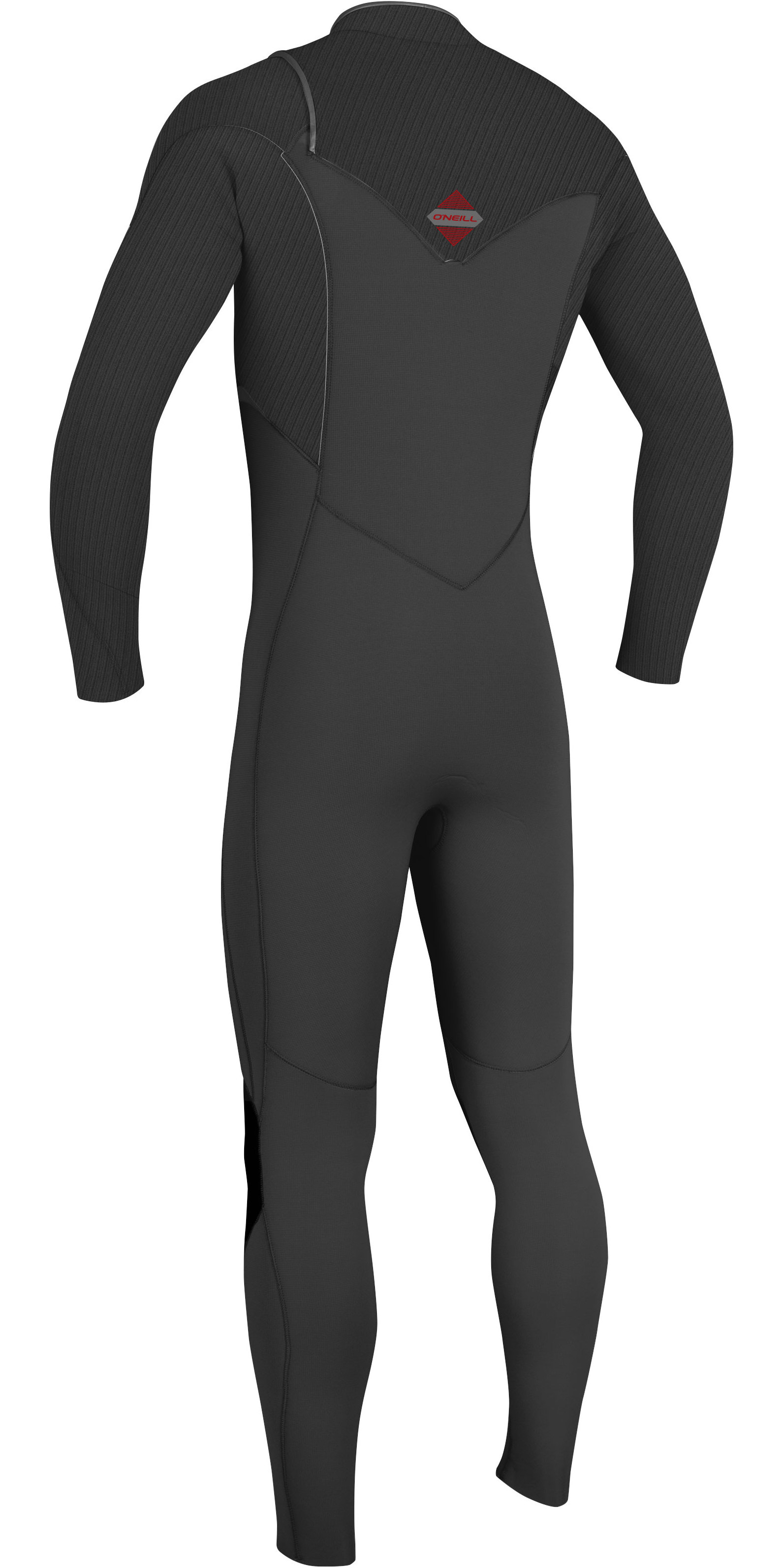 2019 O'Neill Mens Hyperfreak 4 / 3mm Borst Zip GBS Wetsuit Graphite 5001