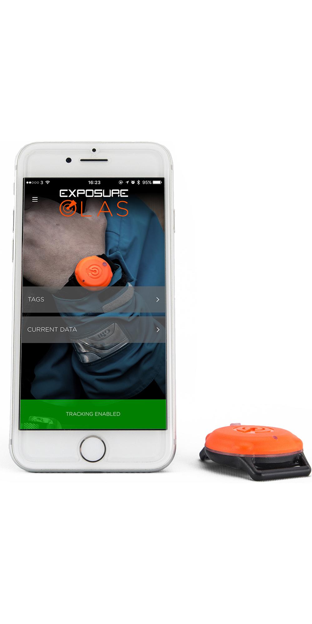 2019 Exposure Olas Smart Tag - Bluetooth Overboard Alarm - 4 Pack