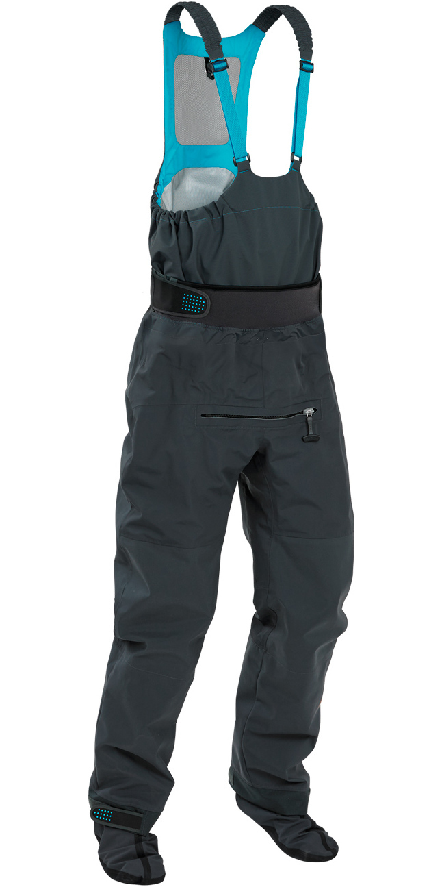 Waterproof /& Breathable Palm Kayak or Kayaking Atom Dry Bib Relief Zip And Dry Socks In Jet Grey