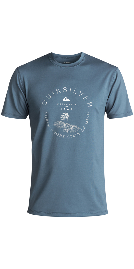 2018 Quiksilver Radical Surf T-Shirt NAVY EQYWR03085 - EQYWR03085 ... 5d411ee4a0