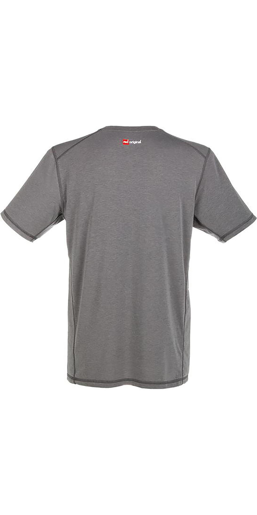 2019 Red Paddle Co Original Dos Homens Performance T-shirt Cinza