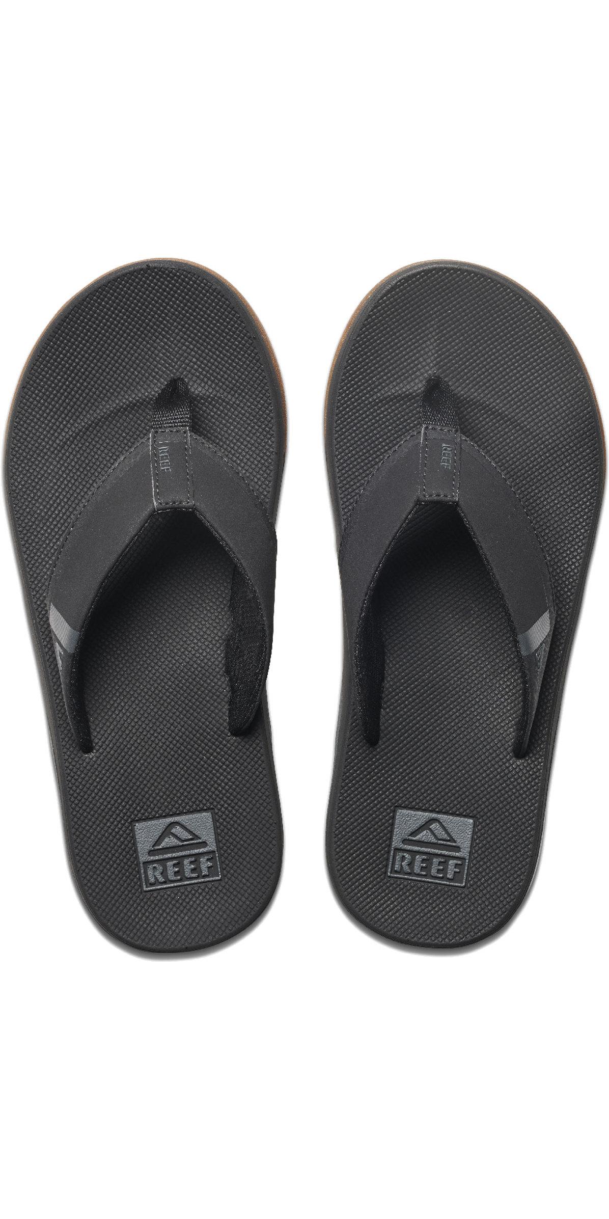 2020 Reef Miesten Lepattavat Matalat Kengät Sandaalit Rf0a3kih Musta