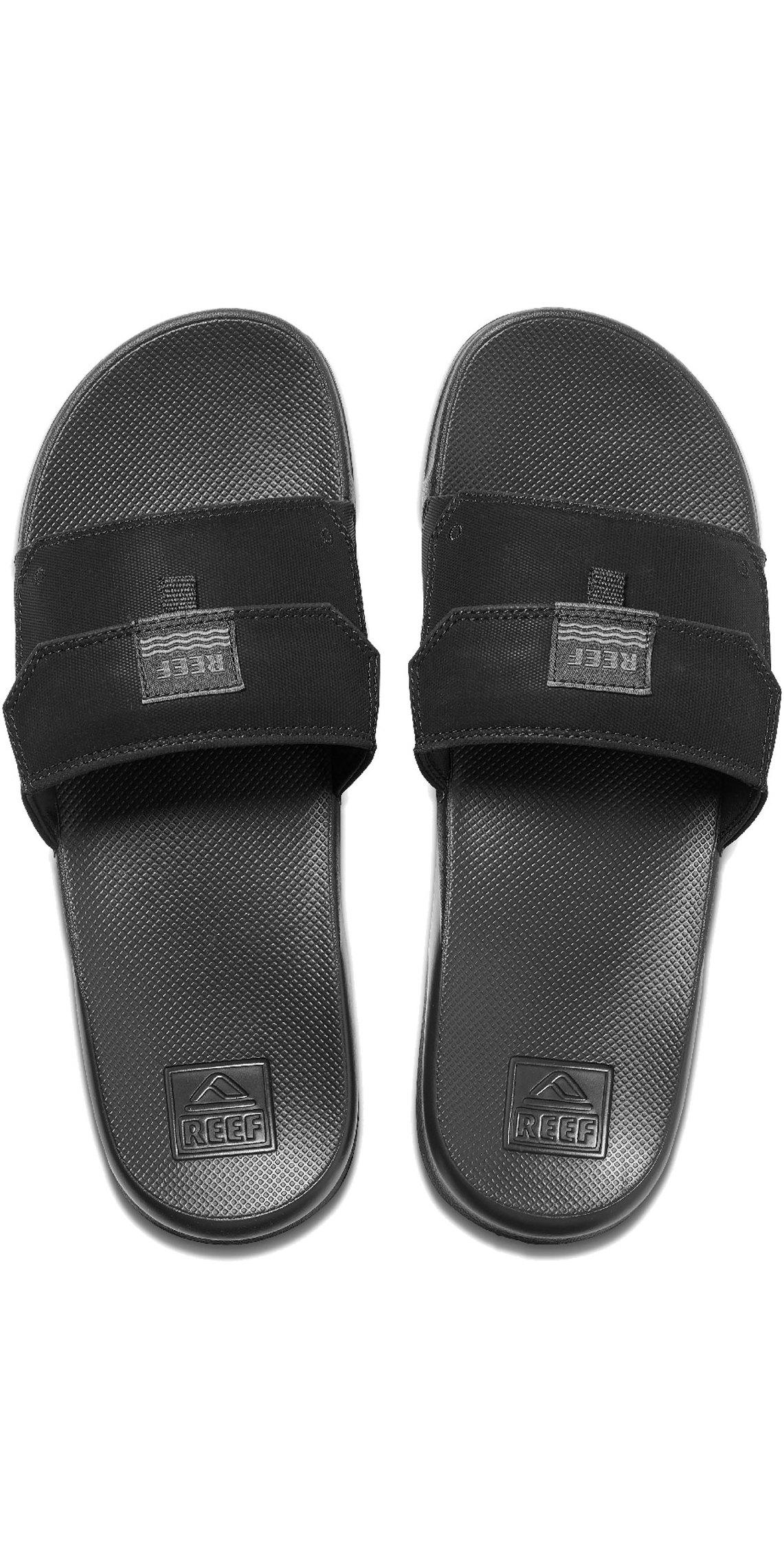 2020 Reef Miesten Stash Slide Flip Flops Sandaalit Rf0a3ymj Musta
