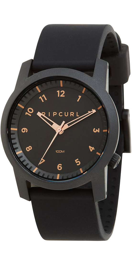 2018 rip curl cambridge montre en silicone or rose a3088 a3088 dames montres par rip. Black Bedroom Furniture Sets. Home Design Ideas
