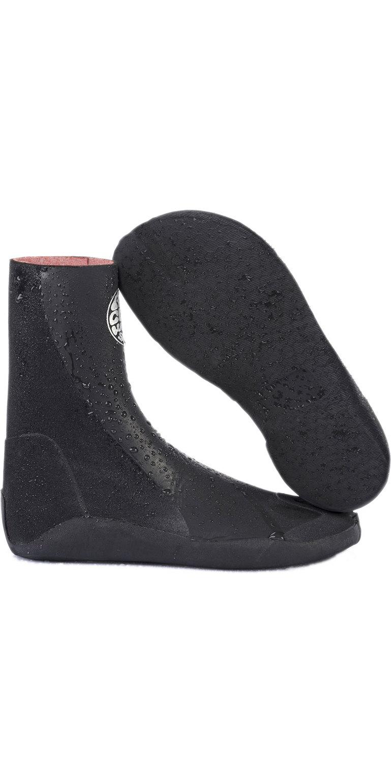 Black 2020 Rip Curl Flashbomb 3mm Hidden Split Toe Wetsuit Boots WBOYHF
