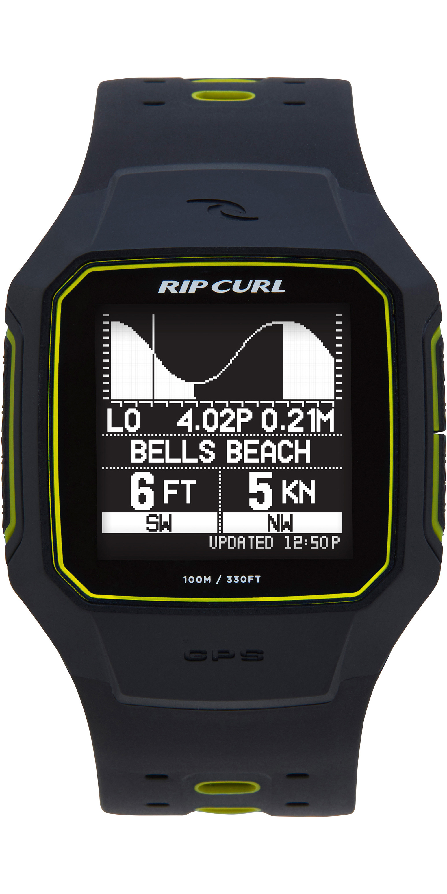 ed9324cbc2f 2019 Rip Curl Cerca GPS Smartwatch serie 2 Smart Yellow A1144 - Mens ...
