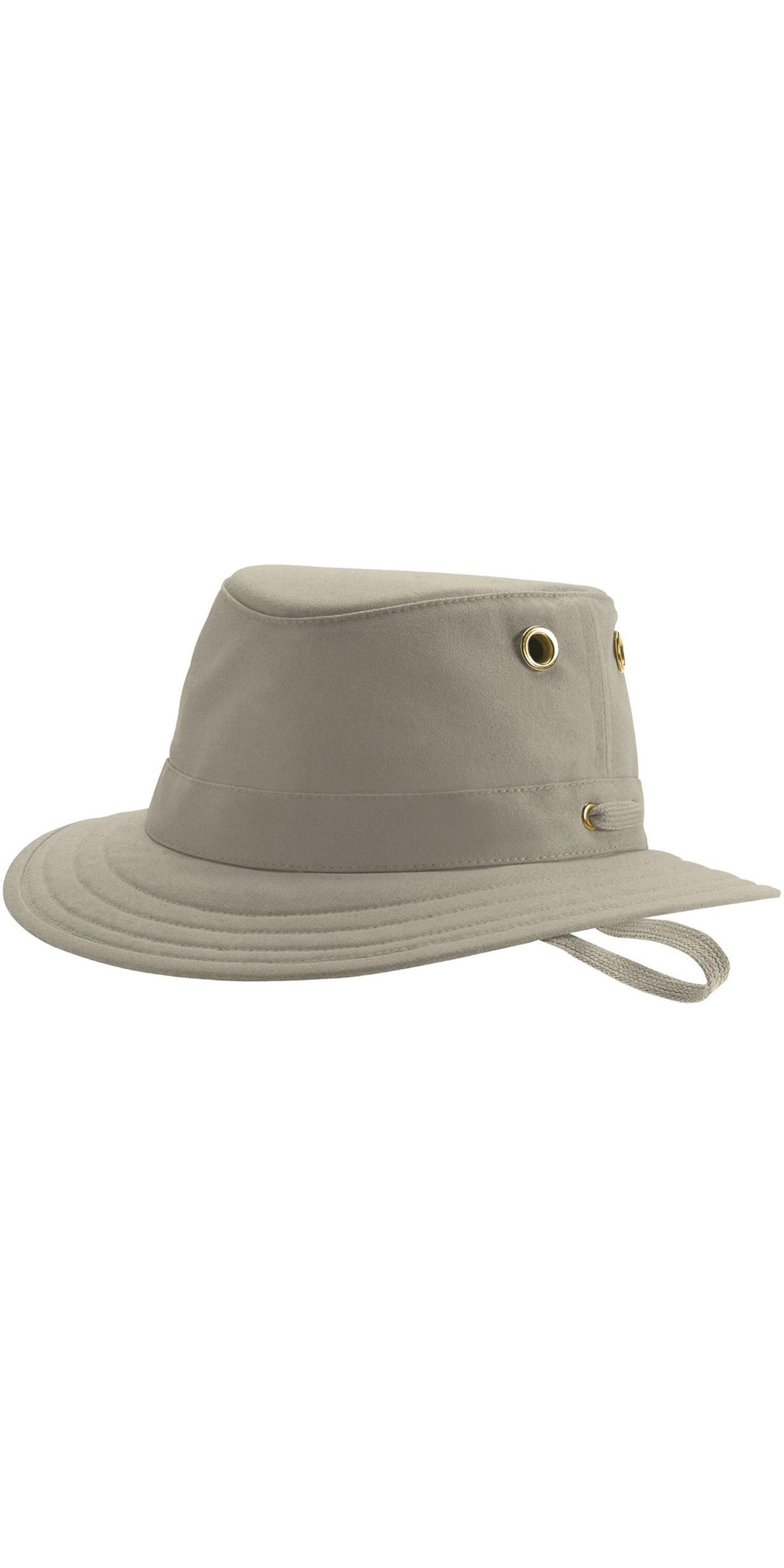 cdc6201eff819 2019 Tilley T5 algodão Duck Brimmed Hat - KHAKI OLIVE - Chapéus ...