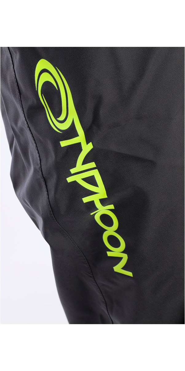 2019 Typhoon Hypercurve 4 Back Zip Drysuit con calcetines y Underfleece Teal / Grey 100170