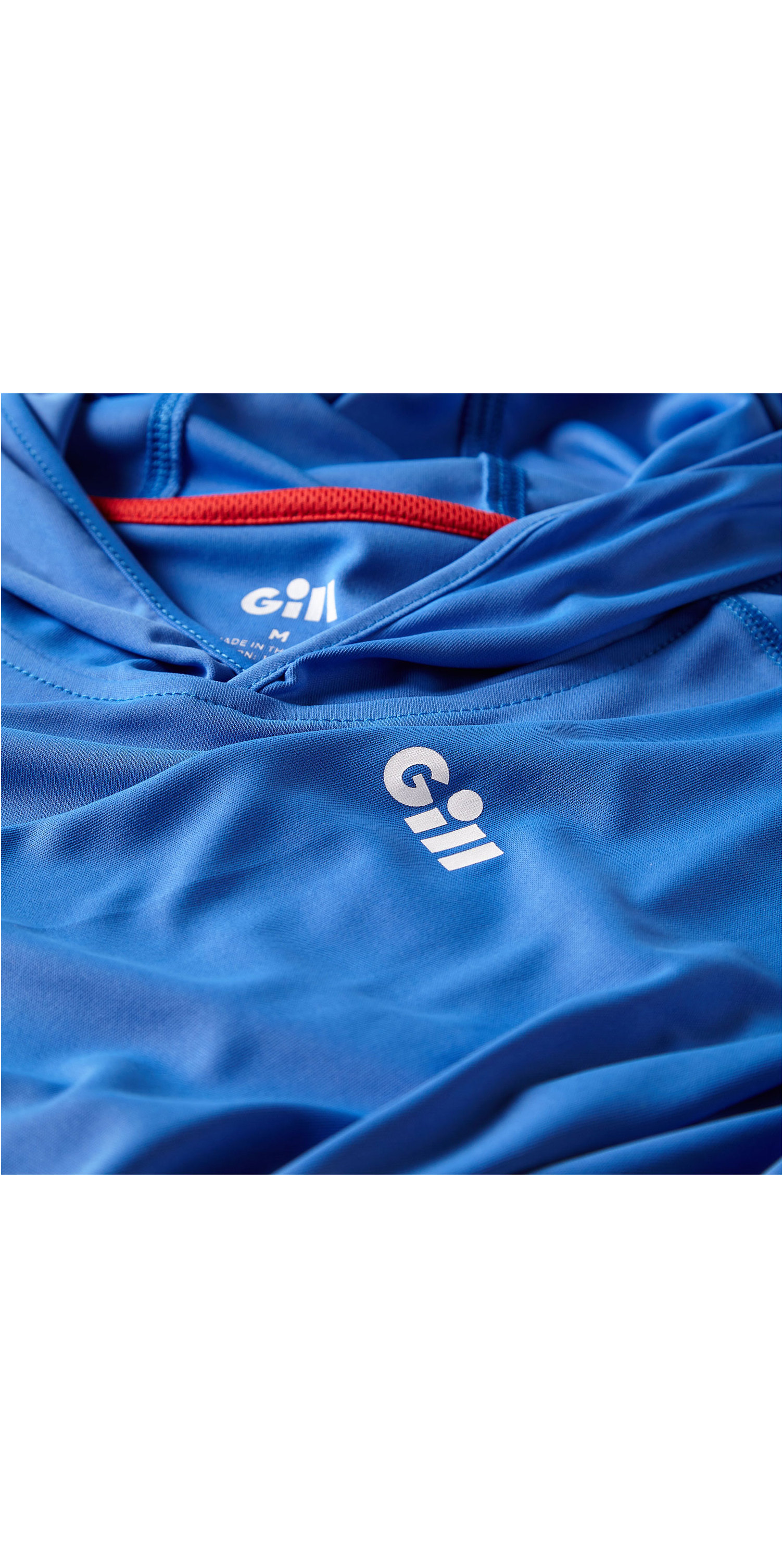 2019 Gill Mens UV Tec Hoody Blue UV016