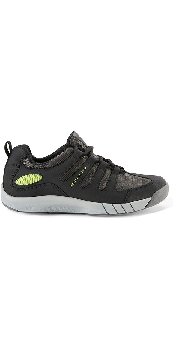 Henri Lloyd Deck Grip Profile Sailing Trainers Shoes 2019 Black