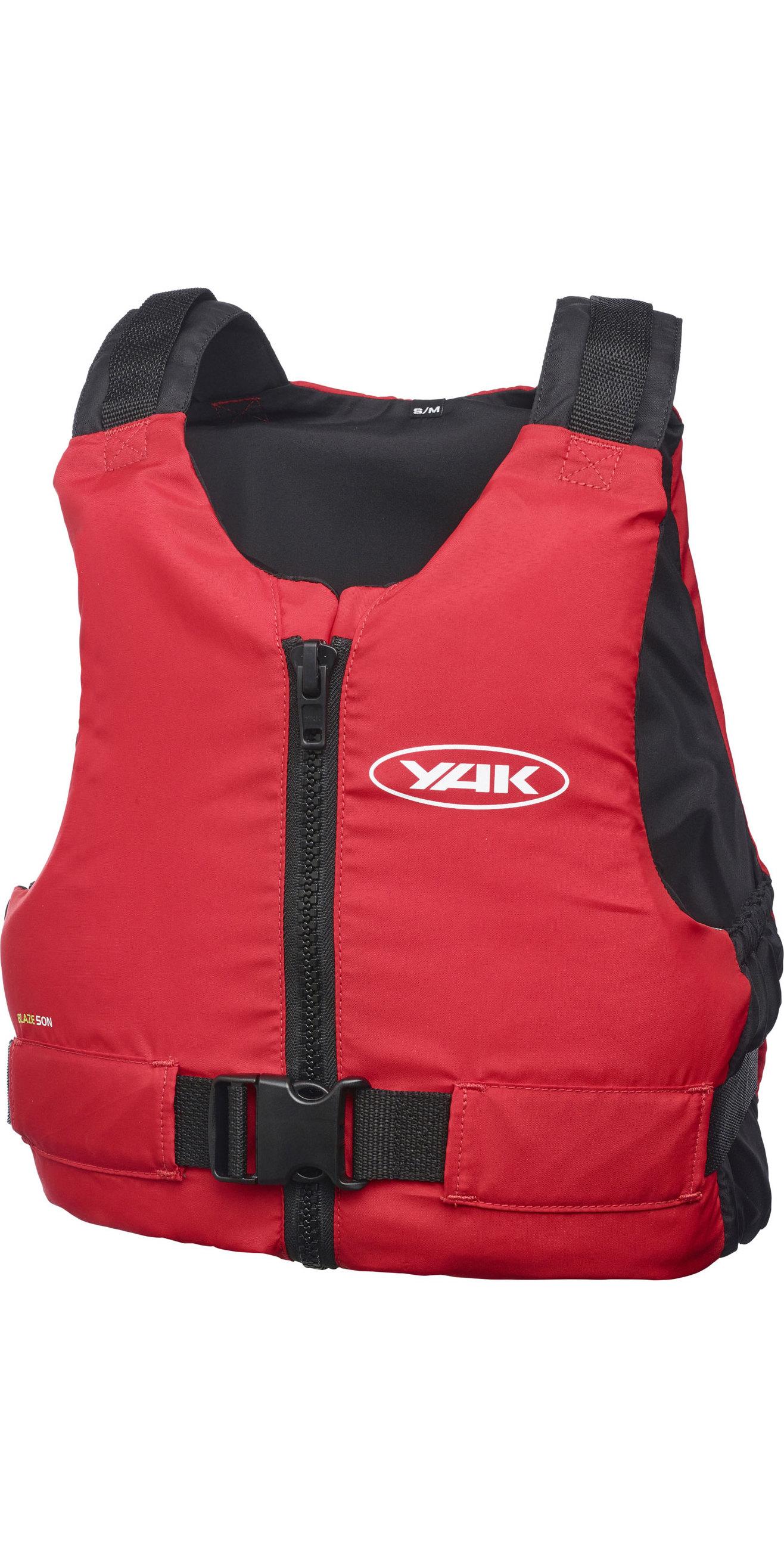 2020 Yak Blaze Kayak 50n Ayuda A La Flotabilidad Rojo 3712