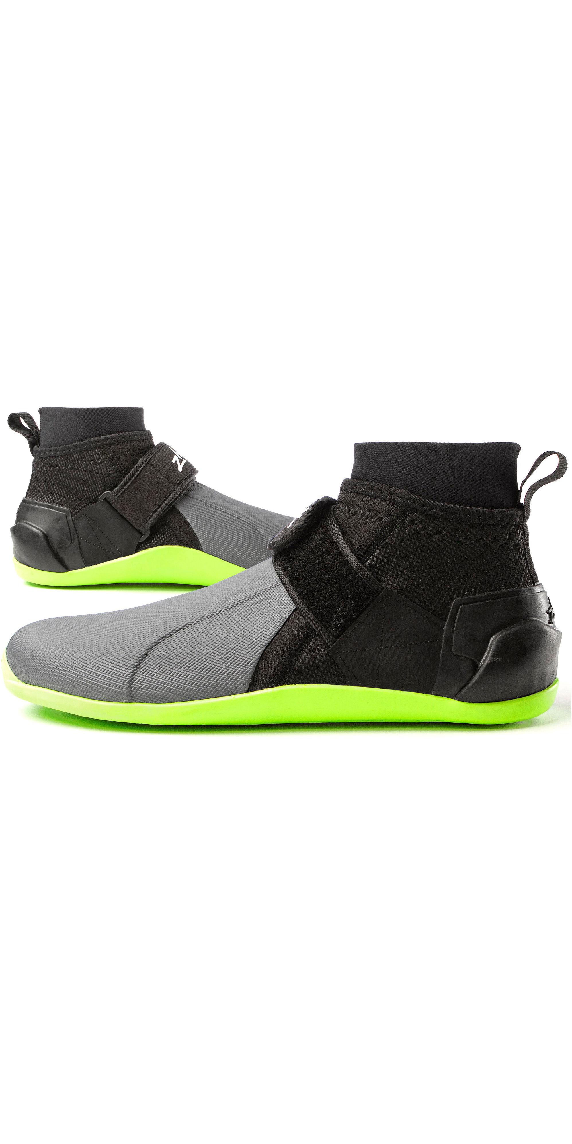 2019 Zhik Low Cut Ankle Boots Grey / Black DBT0170