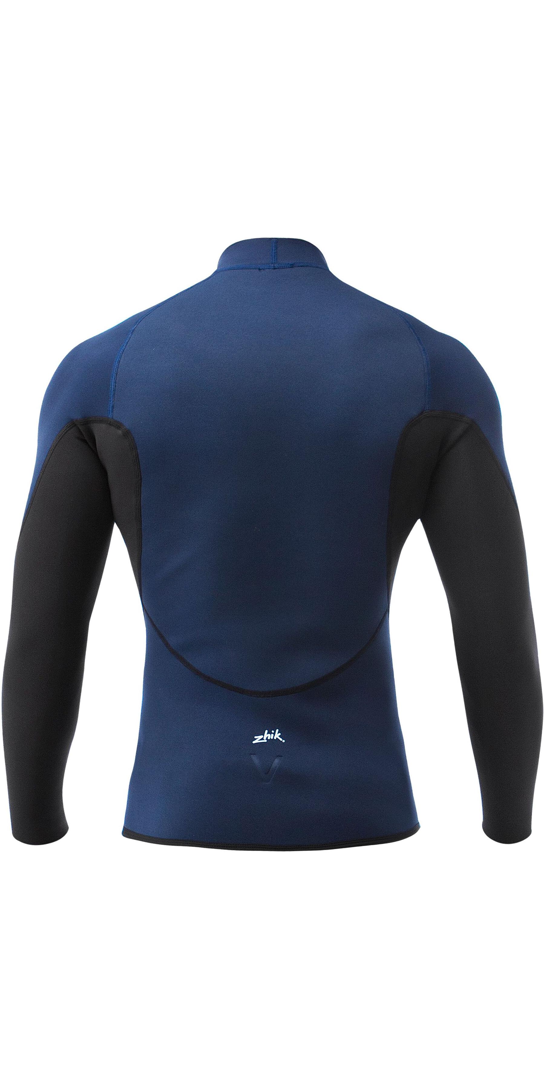 Zhik Heren Microfleece V 1mm Neopreen Top & Long John Wetsuit Combi Set