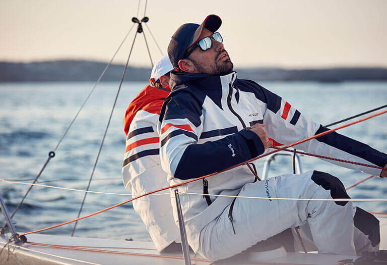 Neu in: Segeljacken und Hosen