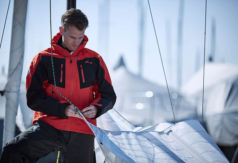 Up to 40% off sailing jackets & trousers