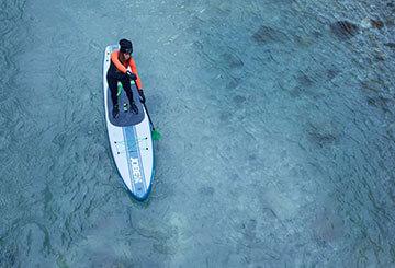 Paddles SUP Paddles en hiver