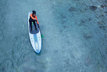 Tablas de paddle surf (SUP) Rema durante el invierno