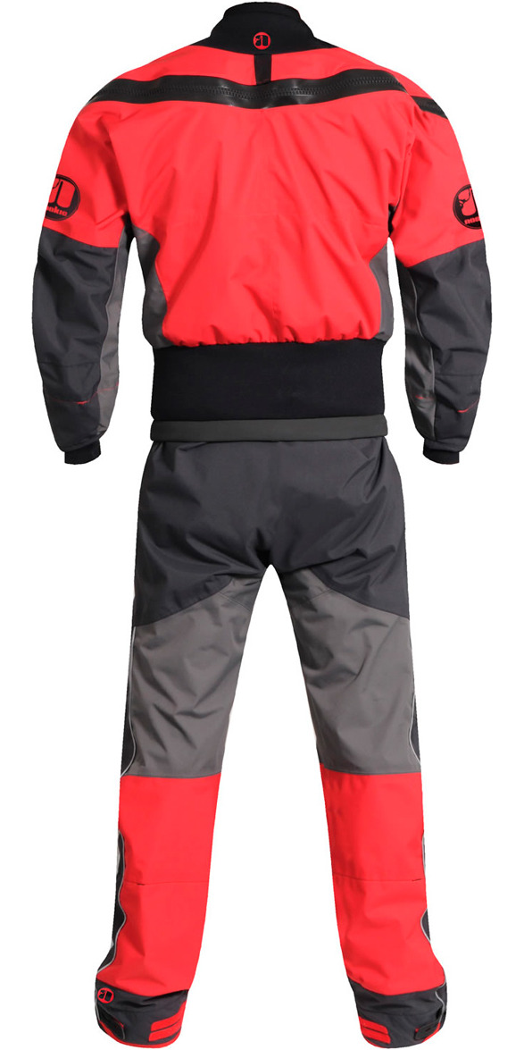 2019 Nookie Charger Canoe / Kayak Drysuit Charcoal Grey /  Red DR10