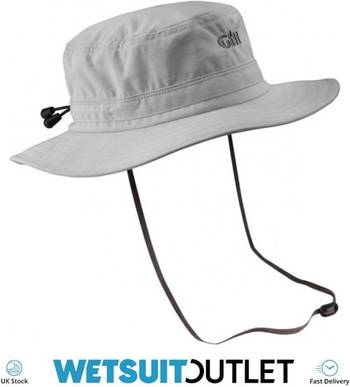 2018 Gill Technical Sailing Sun Hat Silver 140 - 140 - Sombreros Técnicos  Gorras y Viseras  452ed765c74