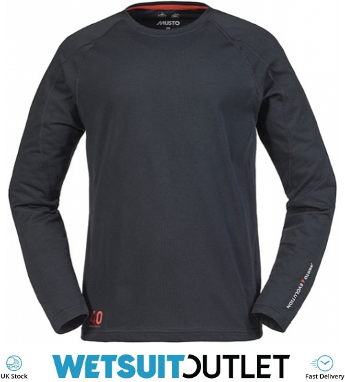 Musto 2016 Evolution Logo Short Sleeve Tee in PLATINUM SE1361