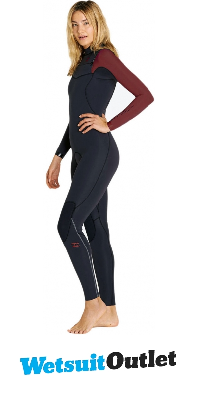 2018 Billabong Ladies Furnace Carbon Comp 3 2mm C Z Wetsuit Mulberry F43g10  - F43g10 - Ladies - 3mm 90e8423ab