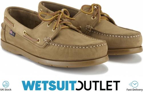 960c61428654 2019 Henri Lloyd Arkansa Deck Shoe Brown Nubuck Caramel F94412 - Sailing  Shoes - Sailing