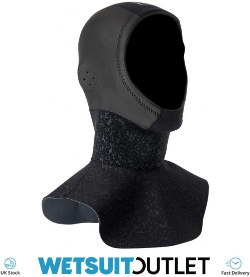 Mystic 2017 Cold 3mm GBS Hood Long Black 170130