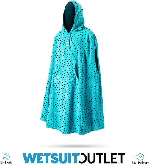 2017 Mystic Womens Changing Robe Poncho in Mint 170110