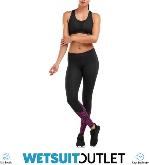 0b8b3ff973e58e 2019 2XU Dame Accelerate Comp Tights Black Fushia WA5372b - Triathlon Toj -  Triathlon - by | Watersports Outlet