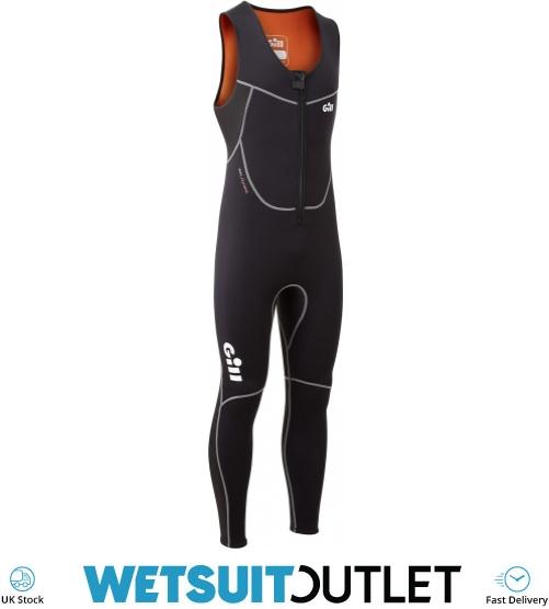 5017 Black 2020 Gill Dynamic Long John Wetsuit