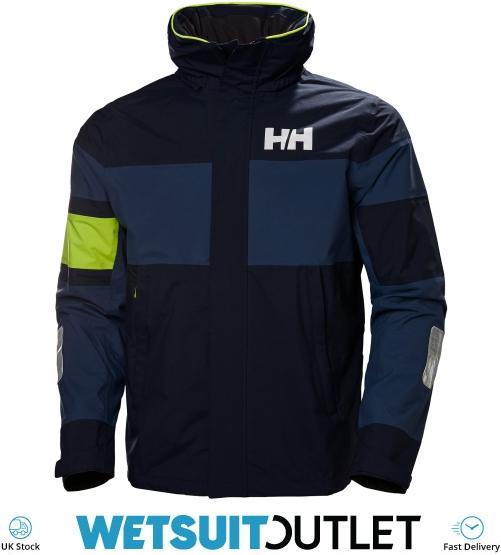 2020 Helly Hansen Salt Flag Jakke Navy 33909 Sejlads