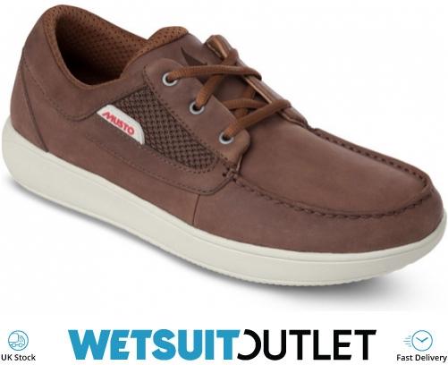 2019 Musto Nautic Drift Sailing Shoes marrón oscuro FMFT020 FMFT020 Zapatos de Vela Vela