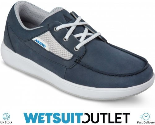 2019 Musto Nautic Drift zapatos de vela True Navy FMFT020 FMFT020 Zapatos de Vela Vela Botas