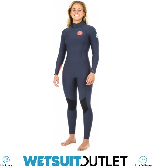 c2af2fec83 2019 Rip Curl Womens Dawn Patrol 5 3mm Gbs Back Zip Wetsuit Navy Wsm8ew -  Womens - 5mm